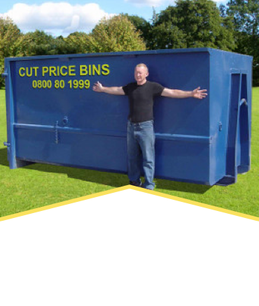 15CU Metre Rubbish Bin Hire