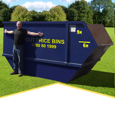 9CU Rubbish Bin Hire
