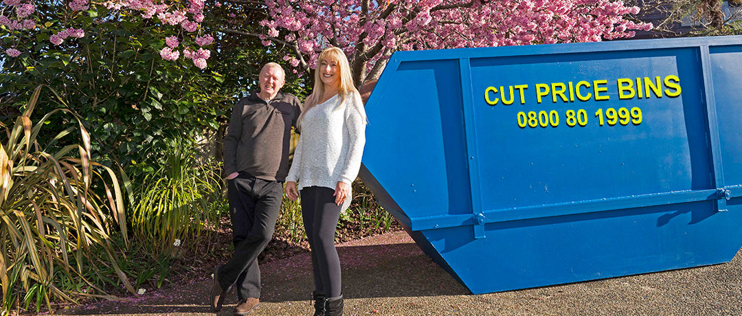 Spring into action and hire a bin.